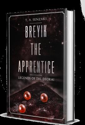 Breyik the Apprentice Cover T. A. Senzaki Travis Senzaki