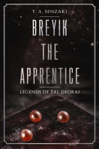 cover of Breyik the Apprentice T. A. Senzaki debut novellette