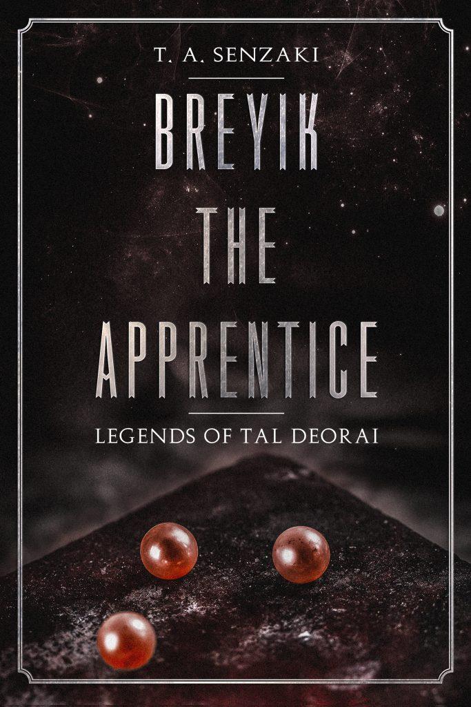 cover of Breyik the Apprentice T. A. Senzaki debut novellette